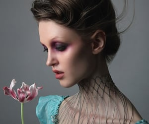 editorial, flower, and fashion image