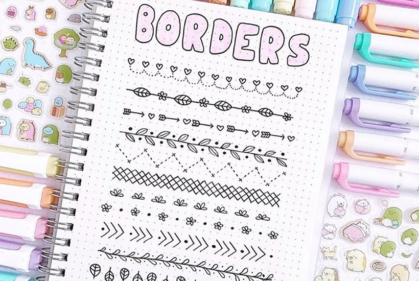 article, bujo, and doodle tutorial image