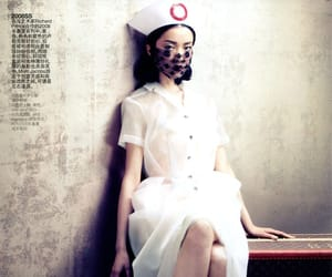 editorial, nurse, and fashion image