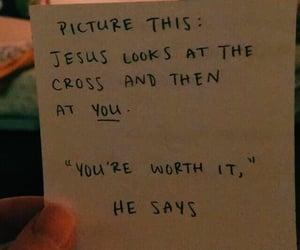 cross, jesus, and christian image