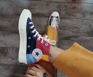 sneakers, converse, and fashion image