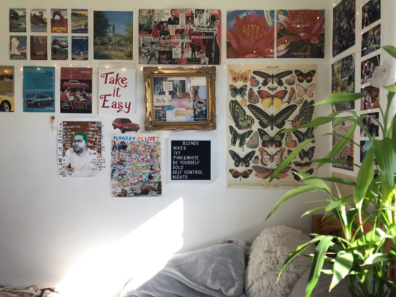 aesthetic, dorm, and inspo image