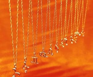 jewelry, necklace, and zodiac image