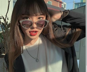 asian girl, summer, and korean style image