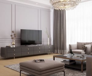 apartment, decorating, and elegance image