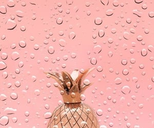wallpaper, Water Drop, and rose gold image