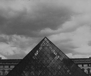 paris, vintage, and louvre image
