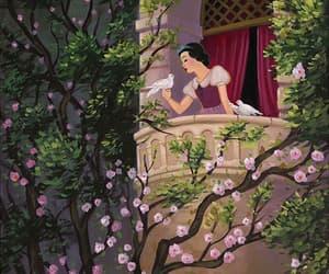 disney, snow white, and princess image