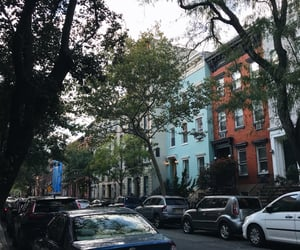 blue, manhattan, and nyc image