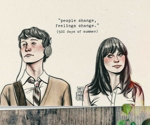 500 Days of Summer, change, and fall in love image