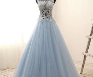 party dress, Prom, and prom dress image