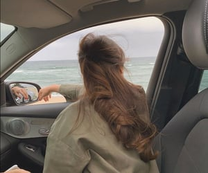 girl, car, and aesthetic image