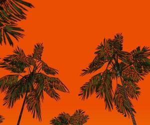 orange, art, and green image