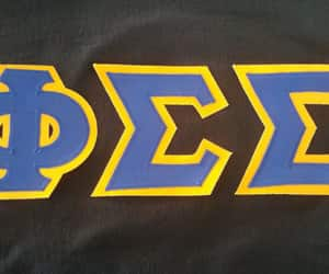 greek, letters, and sorority image