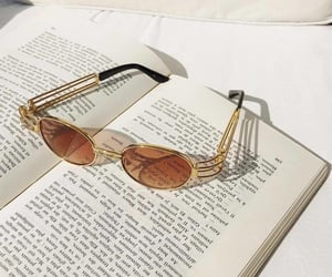 aesthetics, books, and glasses image