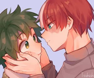 fan art, otp, and tododeku image