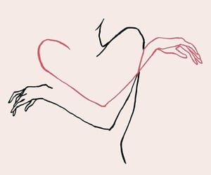 art, love, and heart image