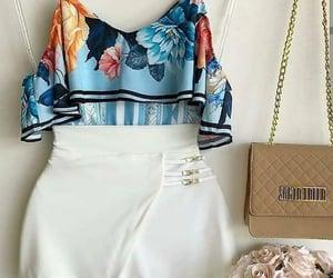azul, blanco, and bolso image