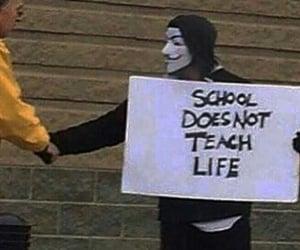 life, school, and grunge image