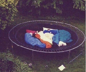 one direction, trampoline, and friends image