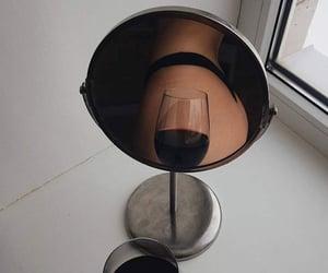 mirror, tumblr, and wine image