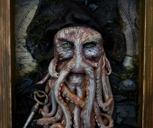 handcraft, pirates of the carribbean, and Davy Jones image