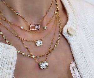 fashion, gold, and jewerly image