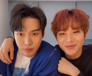 jungwoo, kim jungwoo, and doyoung image
