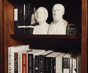 books and bookshelf image