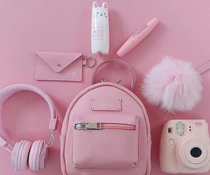 pink, bag, and aesthetic image