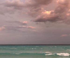 sky, aesthetic, and sea image