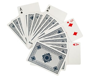 blank playing cards image