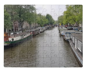 amsterdam, canals, and denmark image