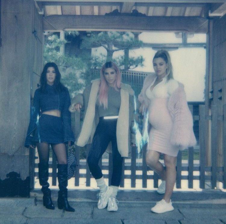 celebrity, kourtney kardashian, and kylie jenner image