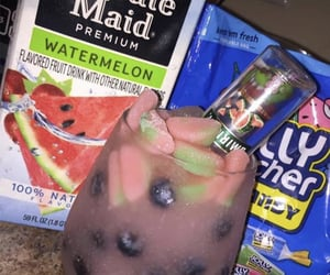 candy, smirnoff, and watermelon image