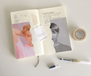journal, rm, and bts image