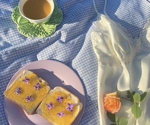 flowers, picnic, and aesthetic image