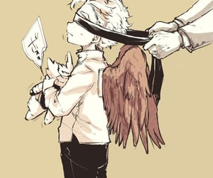 hawks, My Hero, and boku no hero academia image