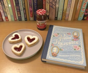 baking, books, and classy image