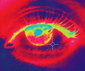 eye, archive, and cyber image
