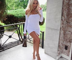 blonde, heels, and casual image
