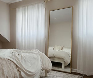 bedroom, fashion, and interior image
