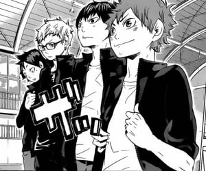 haikyuu, manga, and hinata shouyou image