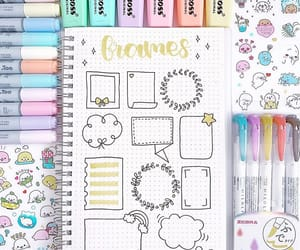 doodle tutorial, bujo, and step by step doodles image