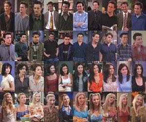friends, ross, and tv show image
