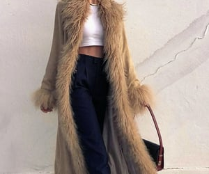 coat, outfit, and fashion image