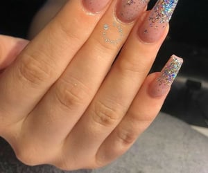 nails, art nails, and deco nails image