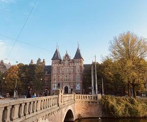 amsterdam, autumn, and bridge image