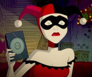 cartoon, clowns, and DC image