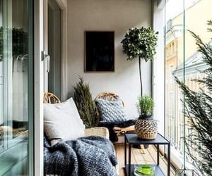balcony, design, and furniture image